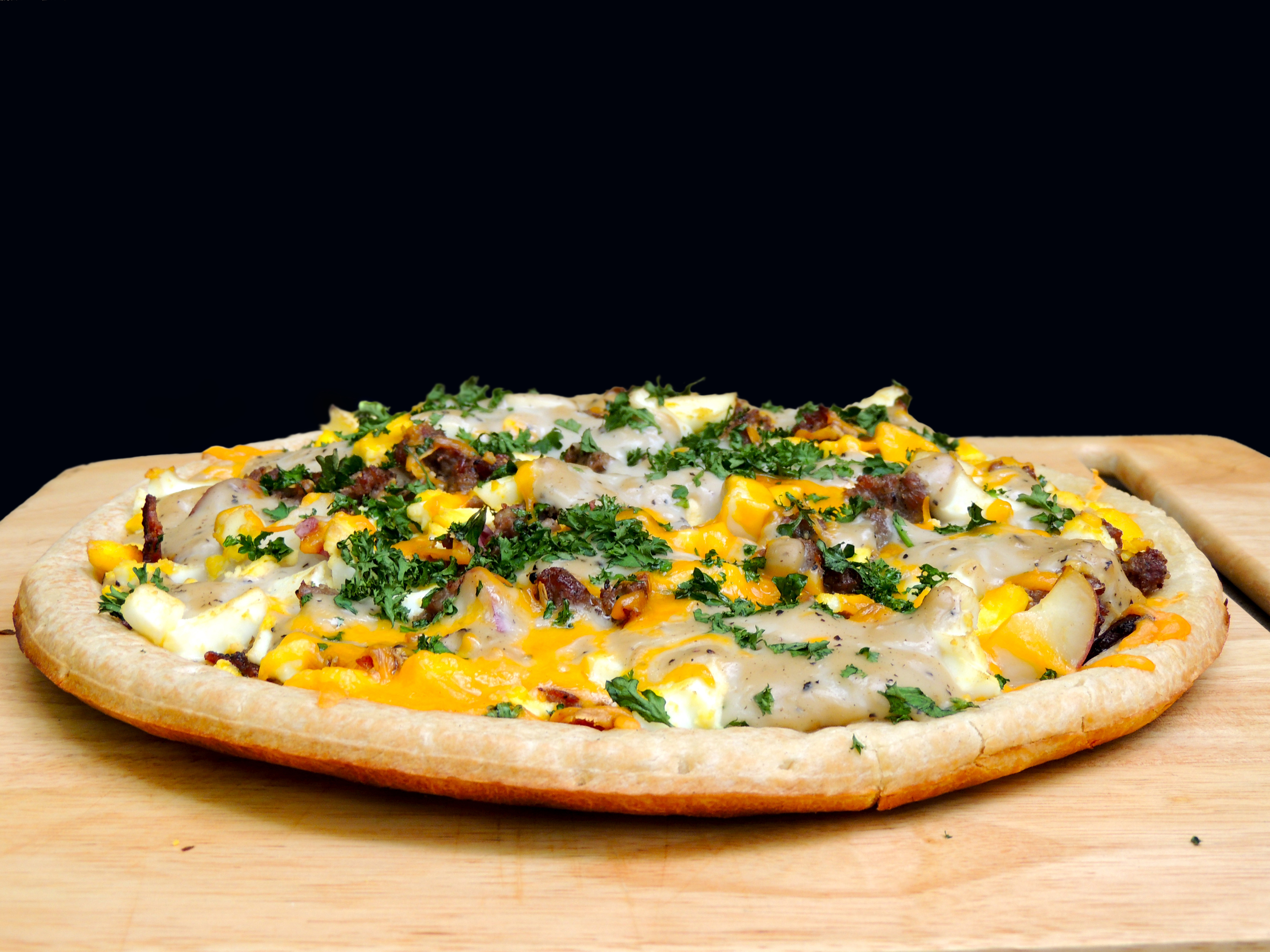 The Ultimate Grilled Breakfast Pizza