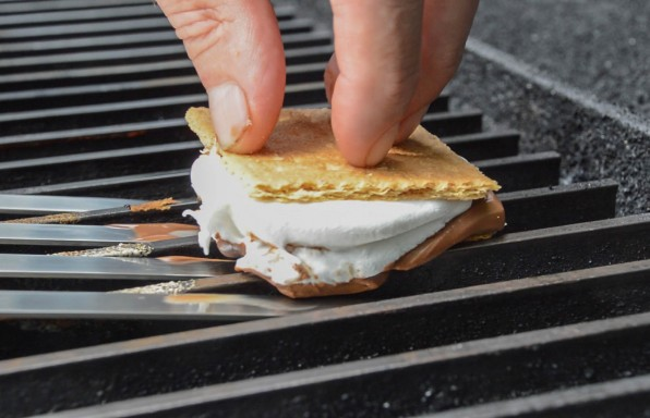 Smore on Grill