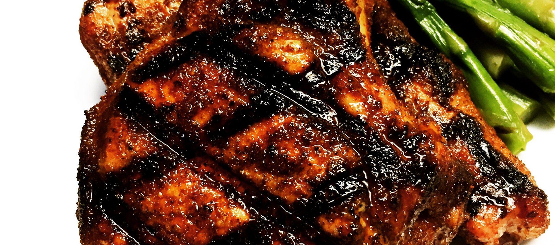 beer brined pork chops